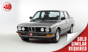 1987 BMW E25 525e /// 3 Owners and Just 48k Miles SOLD