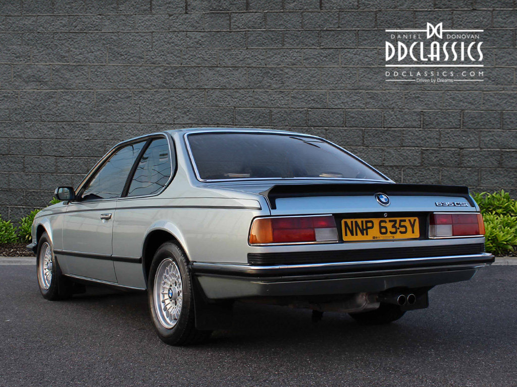 1982 BMW 635 CSiFor Sale In London (RHD) For Sale in London For Sale (picture 4 of 6)