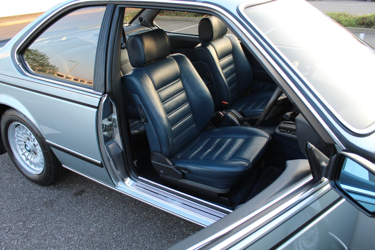 1982 BMW 635 CSiFor Sale In London (RHD) For Sale in London For Sale (picture 5 of 6)