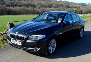 2012 BMW 520d BMW 5 SERIES 2 LITRE TURBO DIESEL EXCELLENT EXAMPLE SOLD by Auction