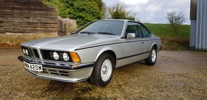 1981  BMW 635CSi E24 Manual - Metallic Silver