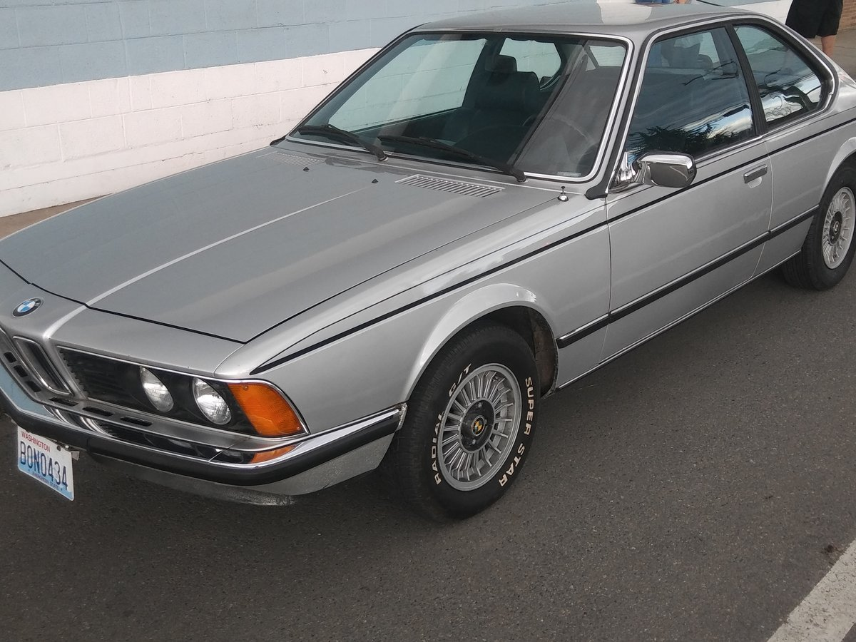 1979 Polaris Silver, BMW 6.0CS 5 spd 88K miles For Sale (picture 1 of 6)
