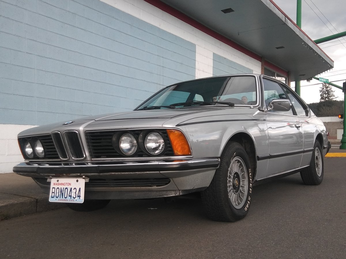 1979 Polaris Silver, BMW 6.0CS 5 spd 88K miles For Sale (picture 6 of 6)
