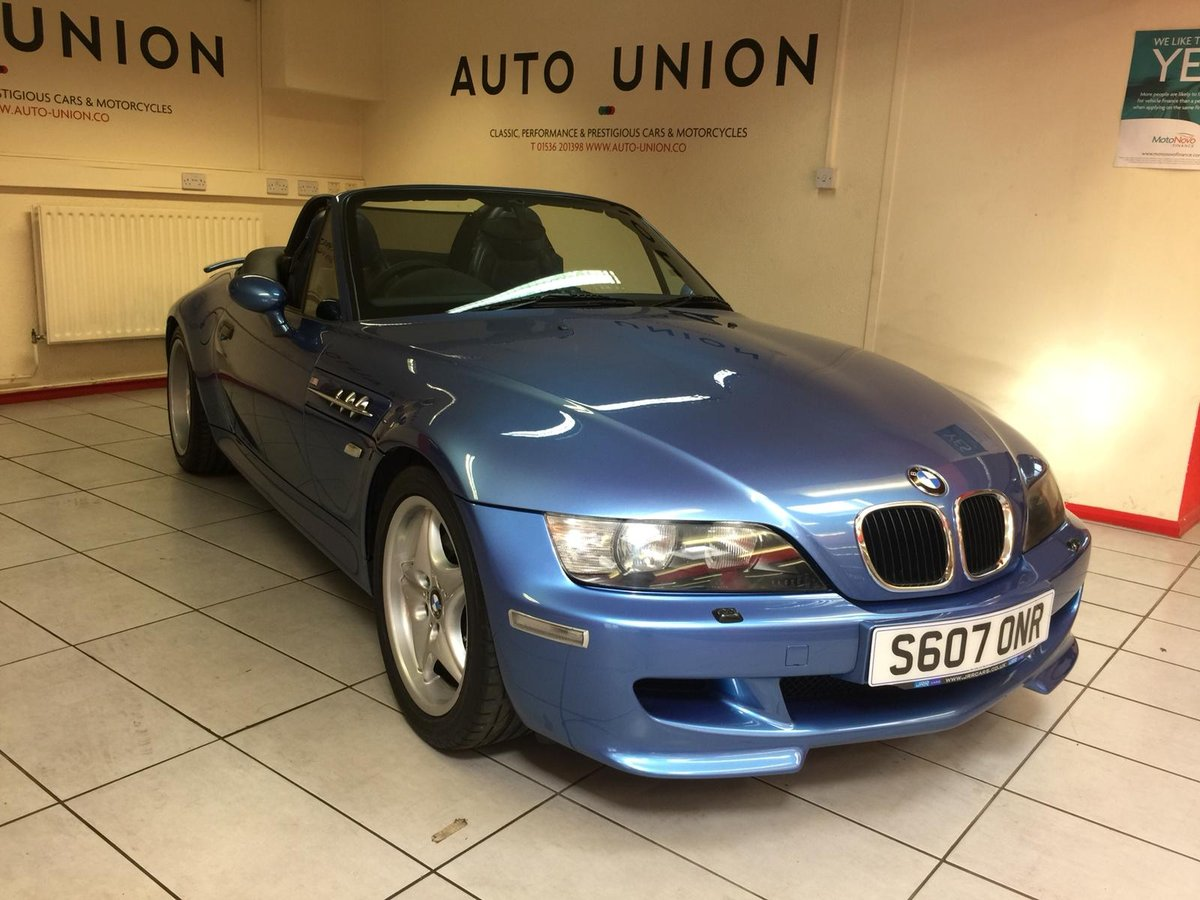 1998 BMW Z3M ROADSTER For Sale (picture 1 of 6)