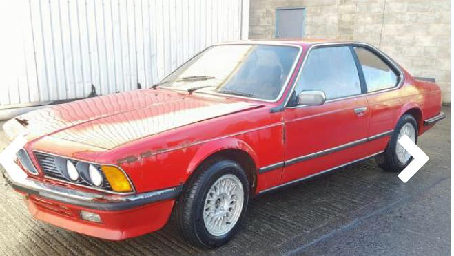 1985 BMW 628 CSI - project For Sale (picture 1 of 5)