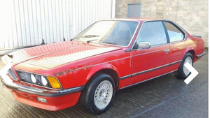 1985 BMW 628 CSI - project