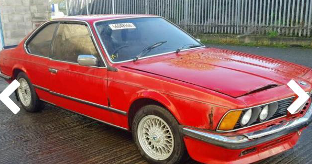 1985 BMW 628 CSI - project For Sale (picture 2 of 5)
