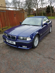 1999 BMW E36 328i Individual Edition Convertible Auto