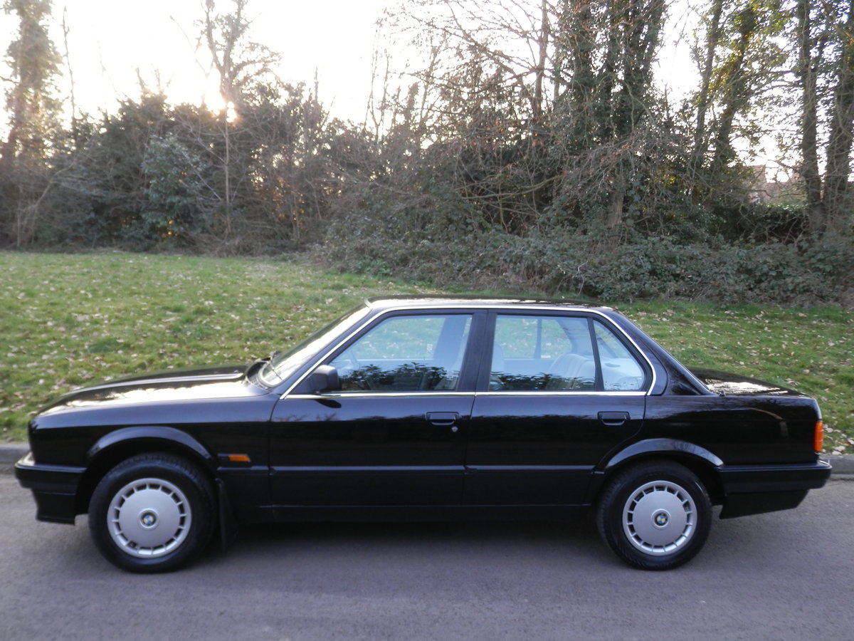 Bmw E30 316i Saloon One Owner Fsh Rare Original Example Sold