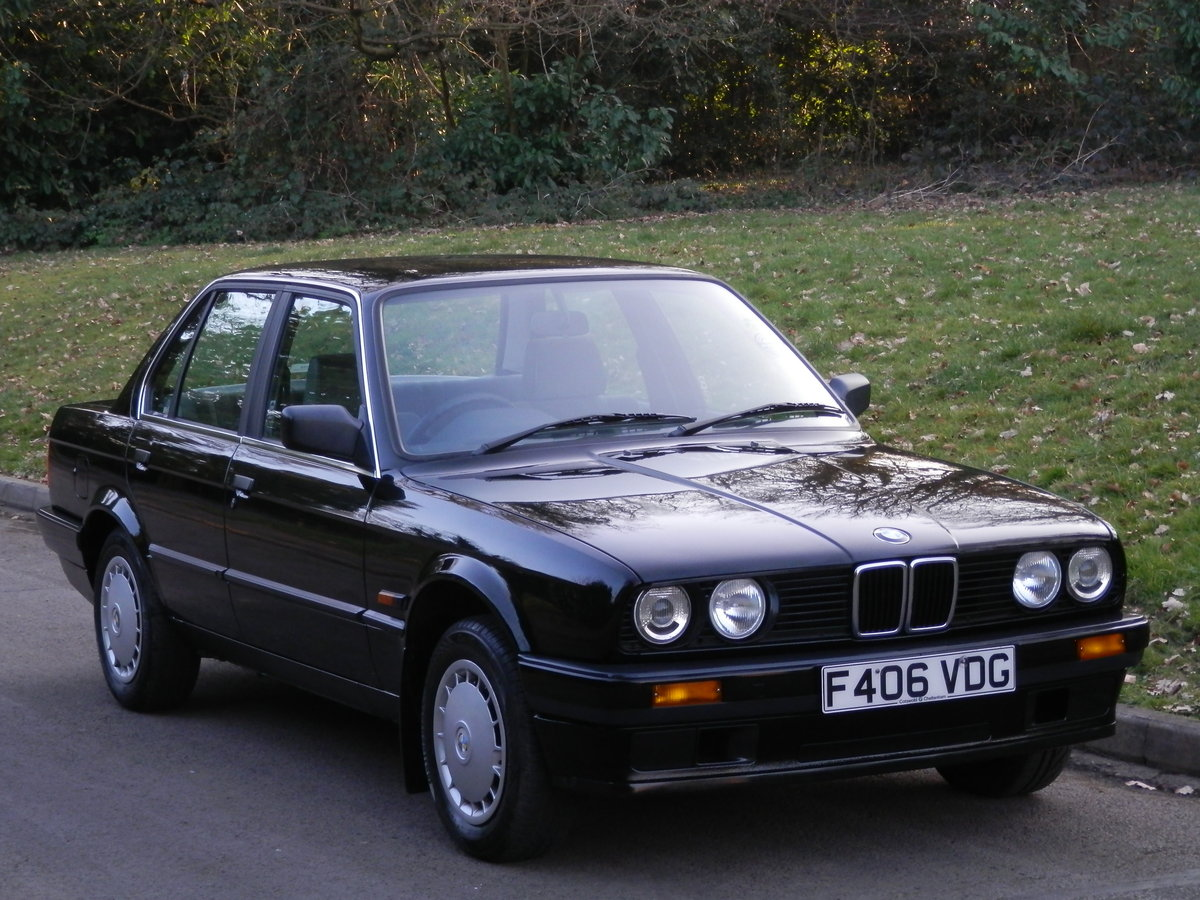 BMW E30 316i SALOON.. ONE OWNER/FSH.. RARE ORIGINAL EXAMPLE SOLD (picture 2 of 6)