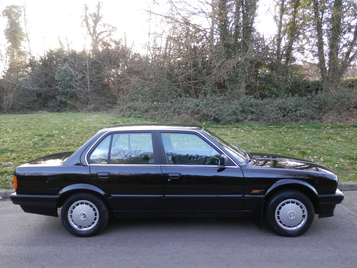 BMW E30 316i SALOON.. ONE OWNER/FSH.. RARE ORIGINAL EXAMPLE SOLD (picture 6 of 6)