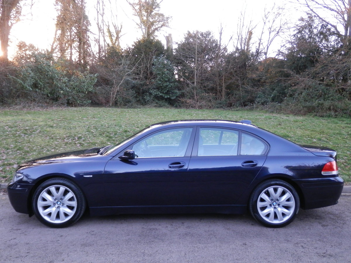BMW 730D SPORT.. LOW MILES.. F/BMW/S/H.. LOVELY SPEC For Sale (picture 1 of 6)