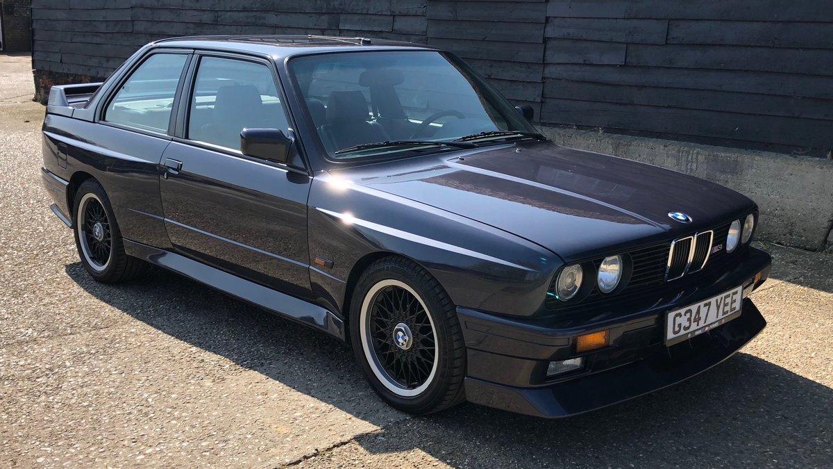 1989 BMW M3 E30 Cecotto For Sale (picture 1 of 6)