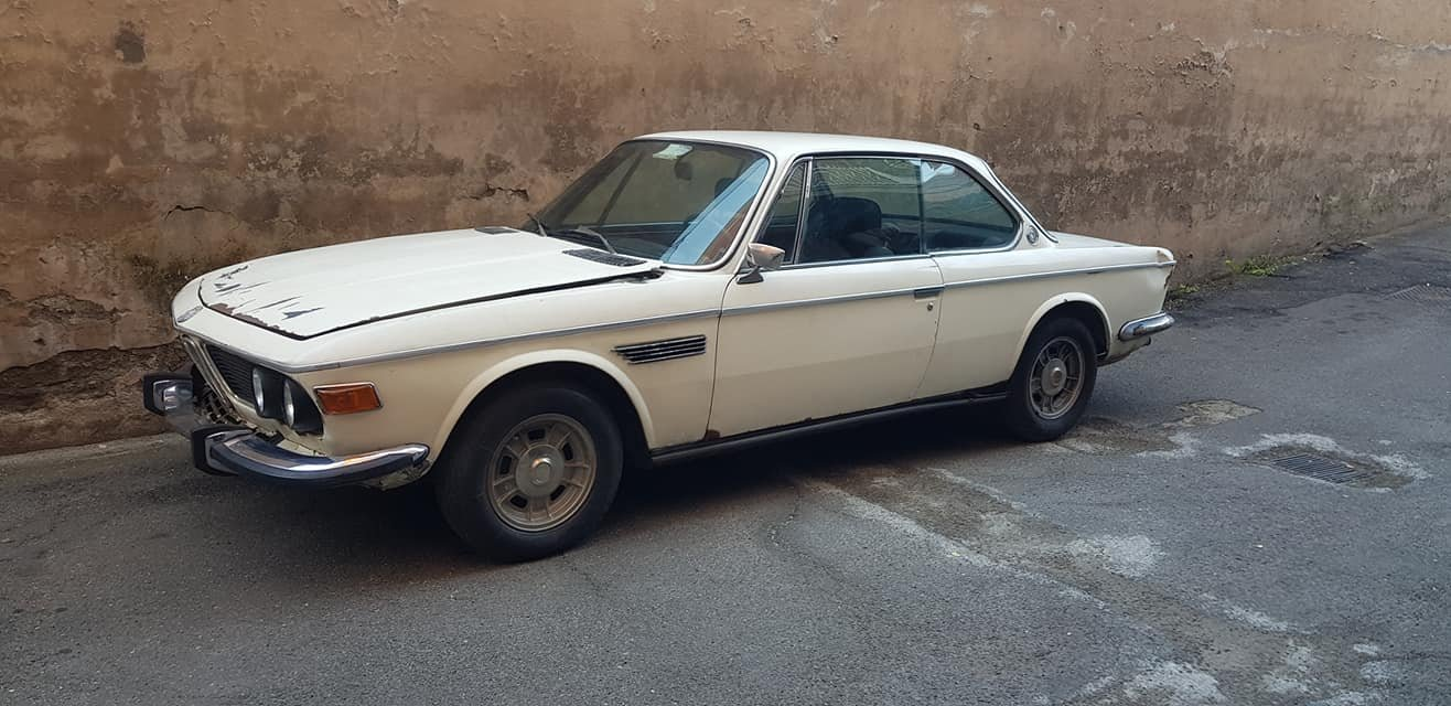 1971 BMW 3.0 CS COUPE 18000 euro SOLD (picture 1 of 6)