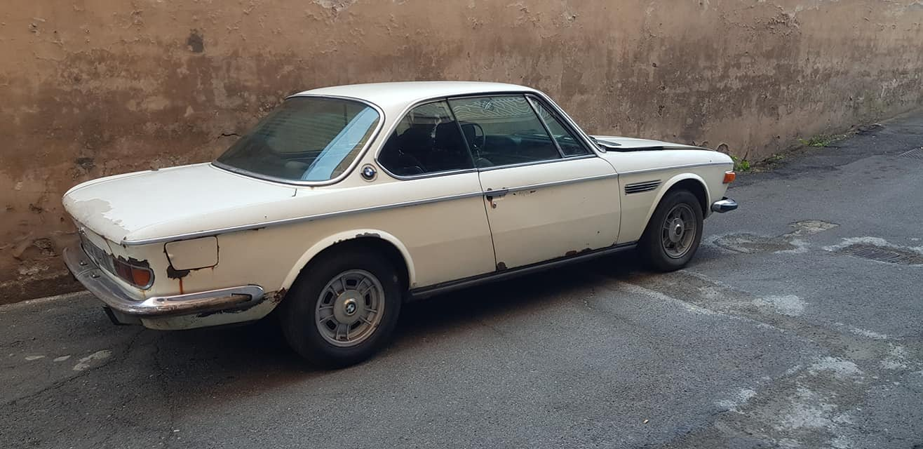 1971 BMW 3.0 CS COUPE 18000 euro SOLD (picture 2 of 6)
