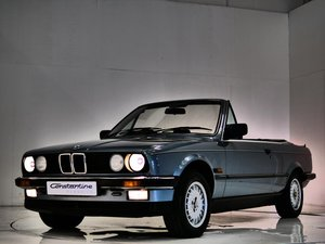 1987 BMW 325i cab manual box low mileage - one owner !