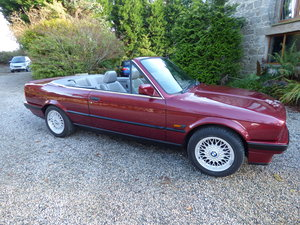 1991 Low miles e30 convertible For Sale