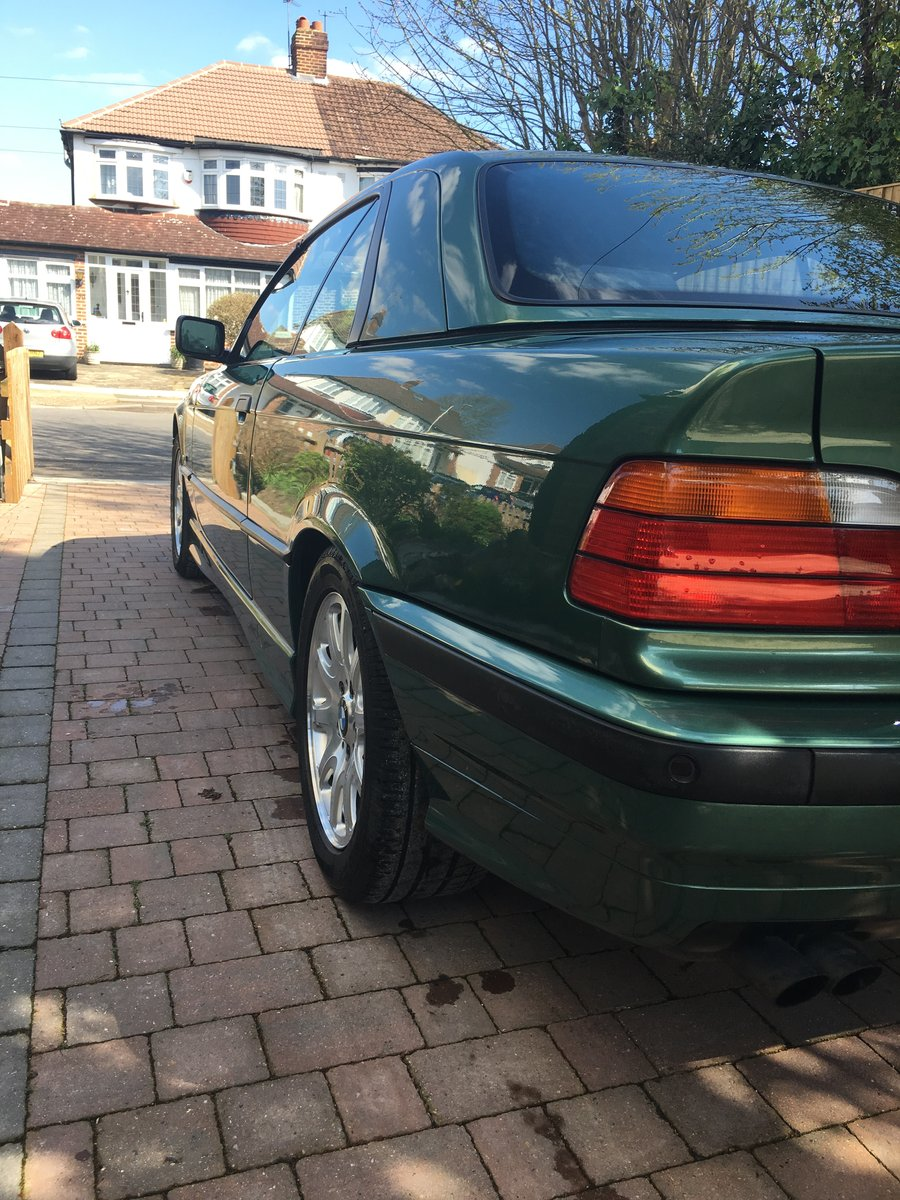 1999 BMW E36 convertible 323i For Sale (picture 1 of 6)