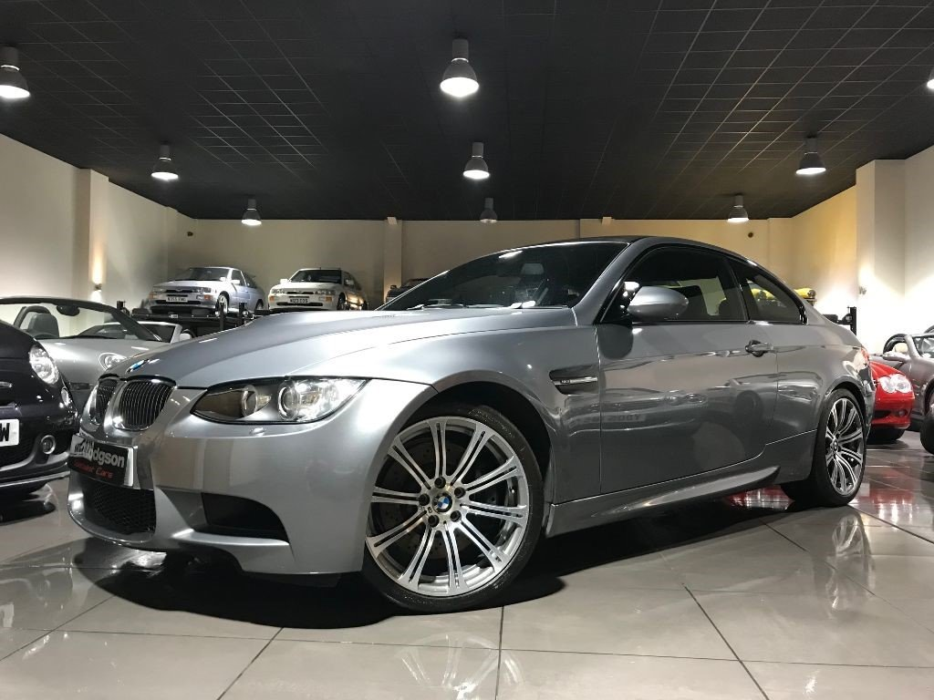 2008 BMW M3 COUPE ONLY 22,800 MILES SPACE GREY MANUAL EDC ...