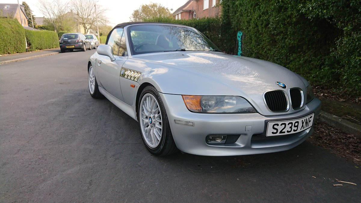 1998 Bmw Z3 Roadster 1.9L For Sale (picture 3 of 6)