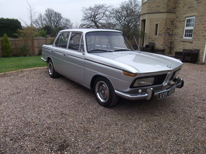 1969 2000 NEUE KLASSE. EXTREMELY RARE. 4 SPEED MANUAL For Sale