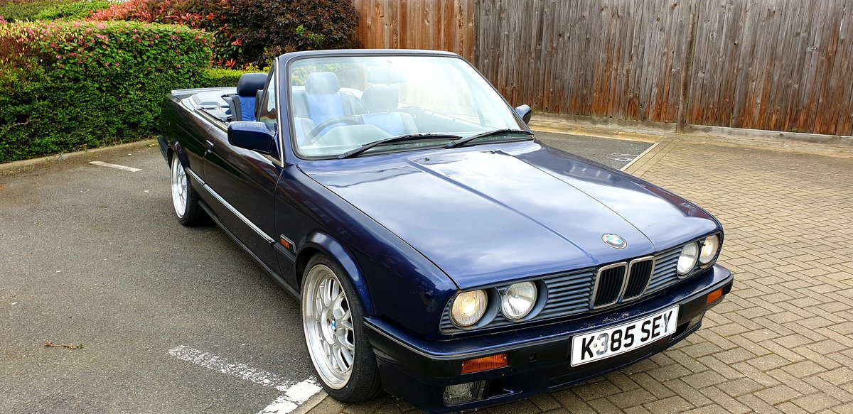 1992 Bmw e30 320i Manual Convertible  SOLD (picture 1 of 1)