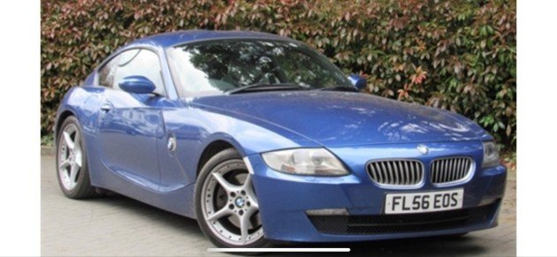 2006 BMW Z4 Coupe For Sale by Auction