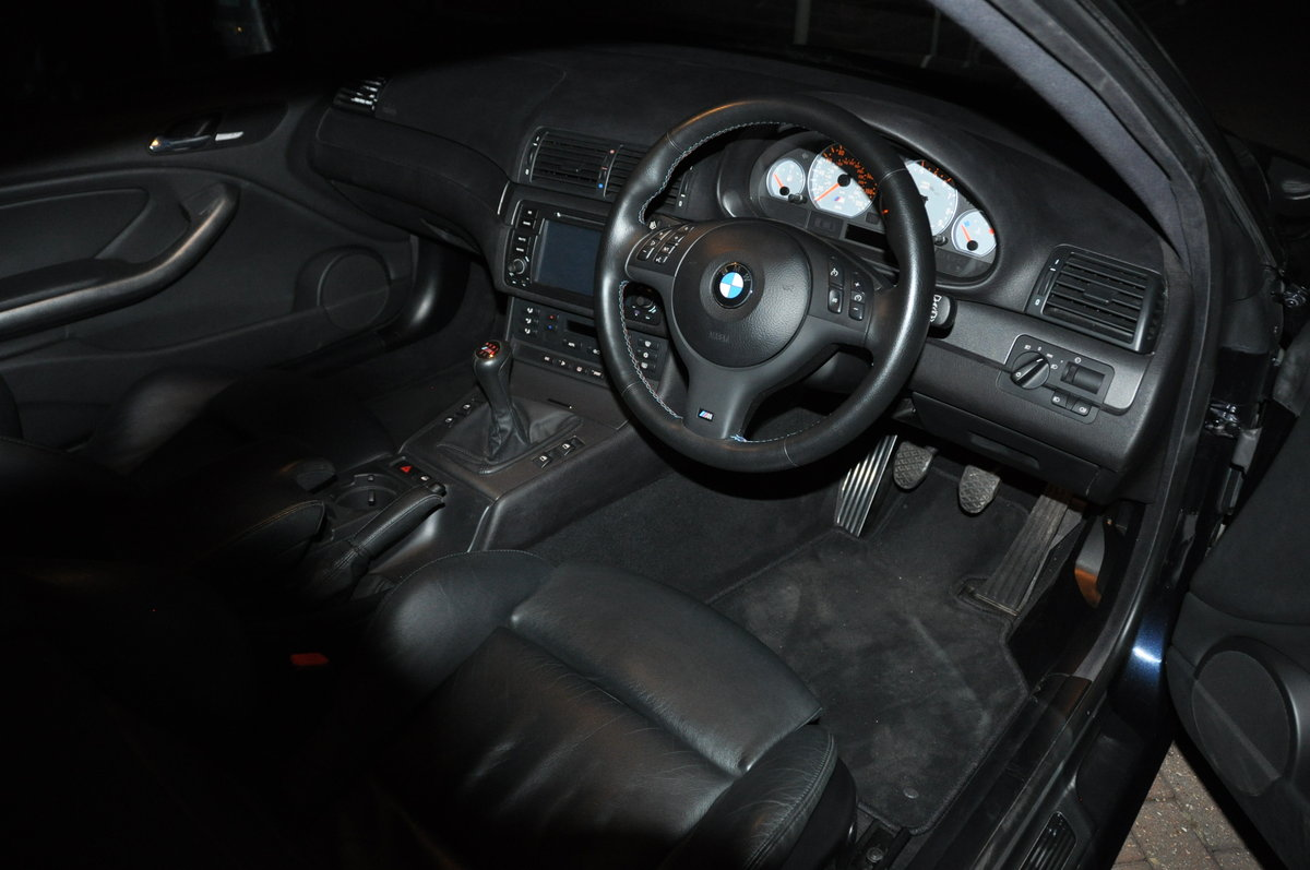 2003 BMW  M3 COUPE E46 MANUAL very low milage For Sale (picture 4 of 6)