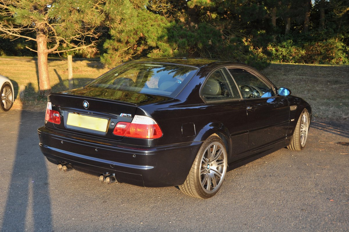 2003 BMW  M3 COUPE E46 MANUAL very low milage For Sale (picture 5 of 6)