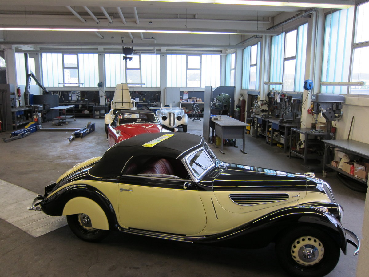 "1938 FN BMW 327/80 ""Sport Kabriolett"", RHD SOLD (picture 1 of 6)"