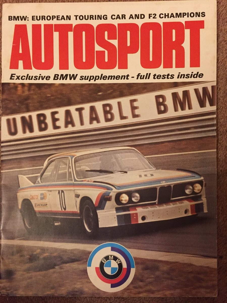 1973 BMW 3.0CSL - Sean Connerys 3.0CSL For Sale (picture 6 of 6)