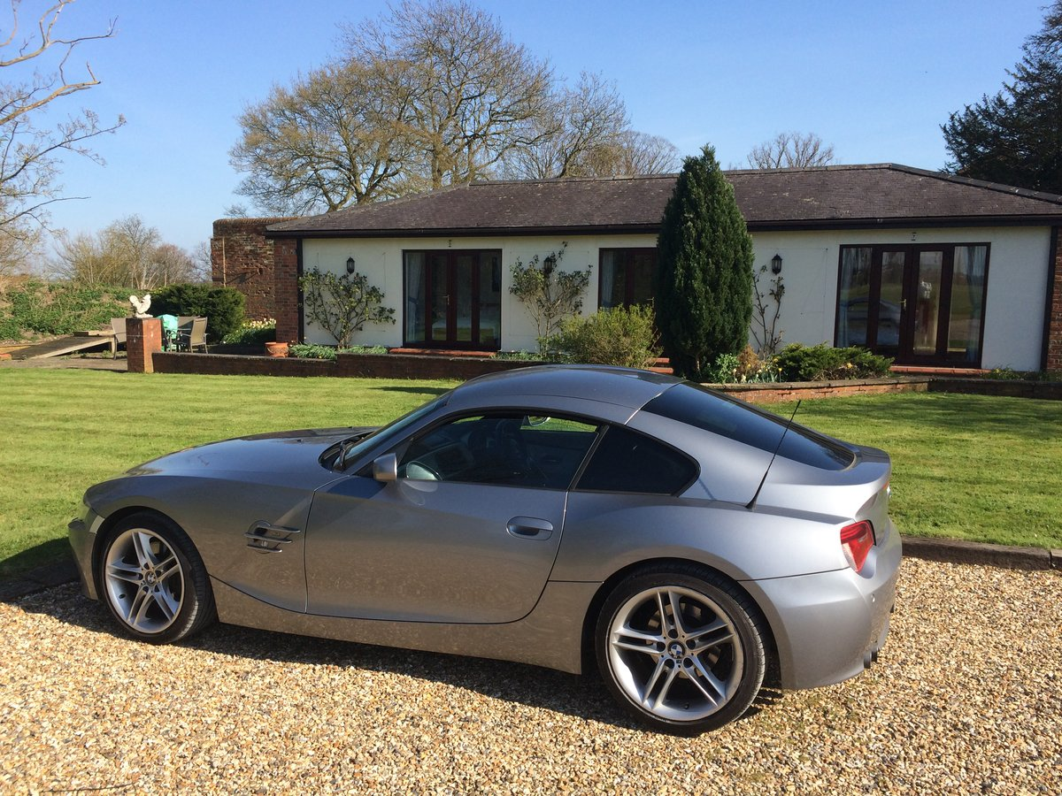 2007 BMW Z4 Coupe 3.0Si Sport Model For Sale (picture 1 of 5)