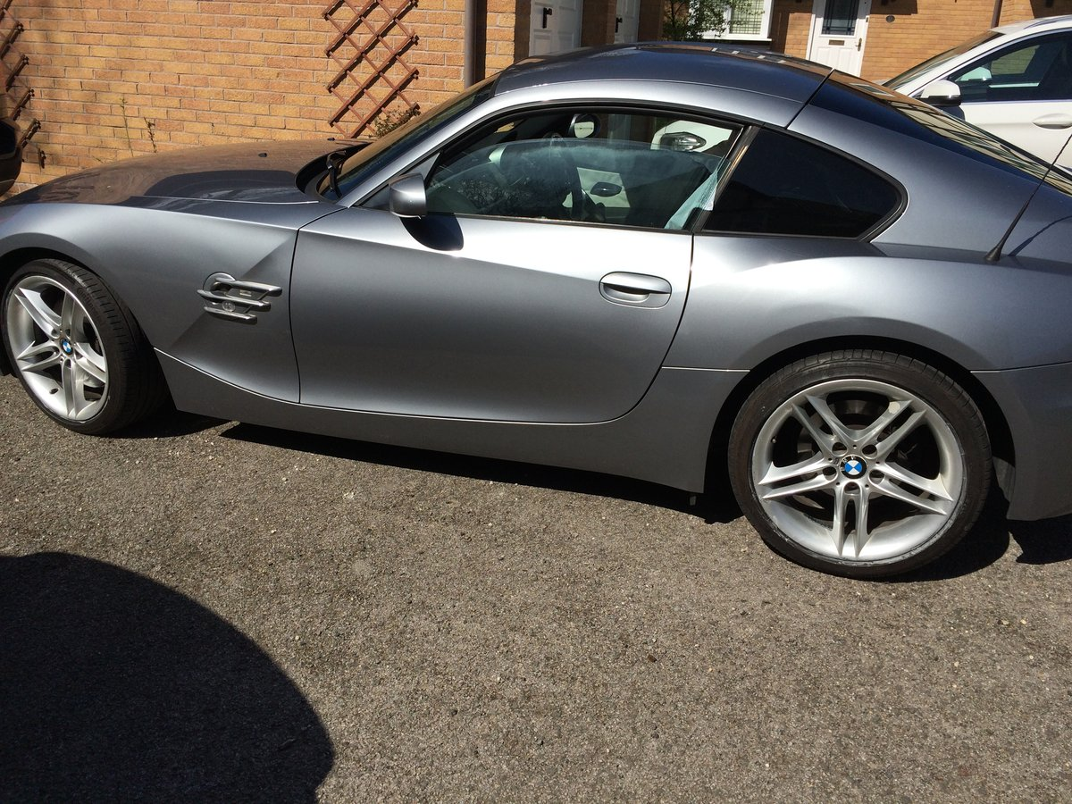 2007 BMW Z4 Coupe 3.0Si Sport Model For Sale (picture 4 of 5)