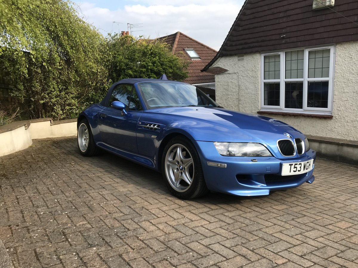 BMW Z3M S50 ROADSTER -1999 - low miles - original For Sale (picture 1 of 6)