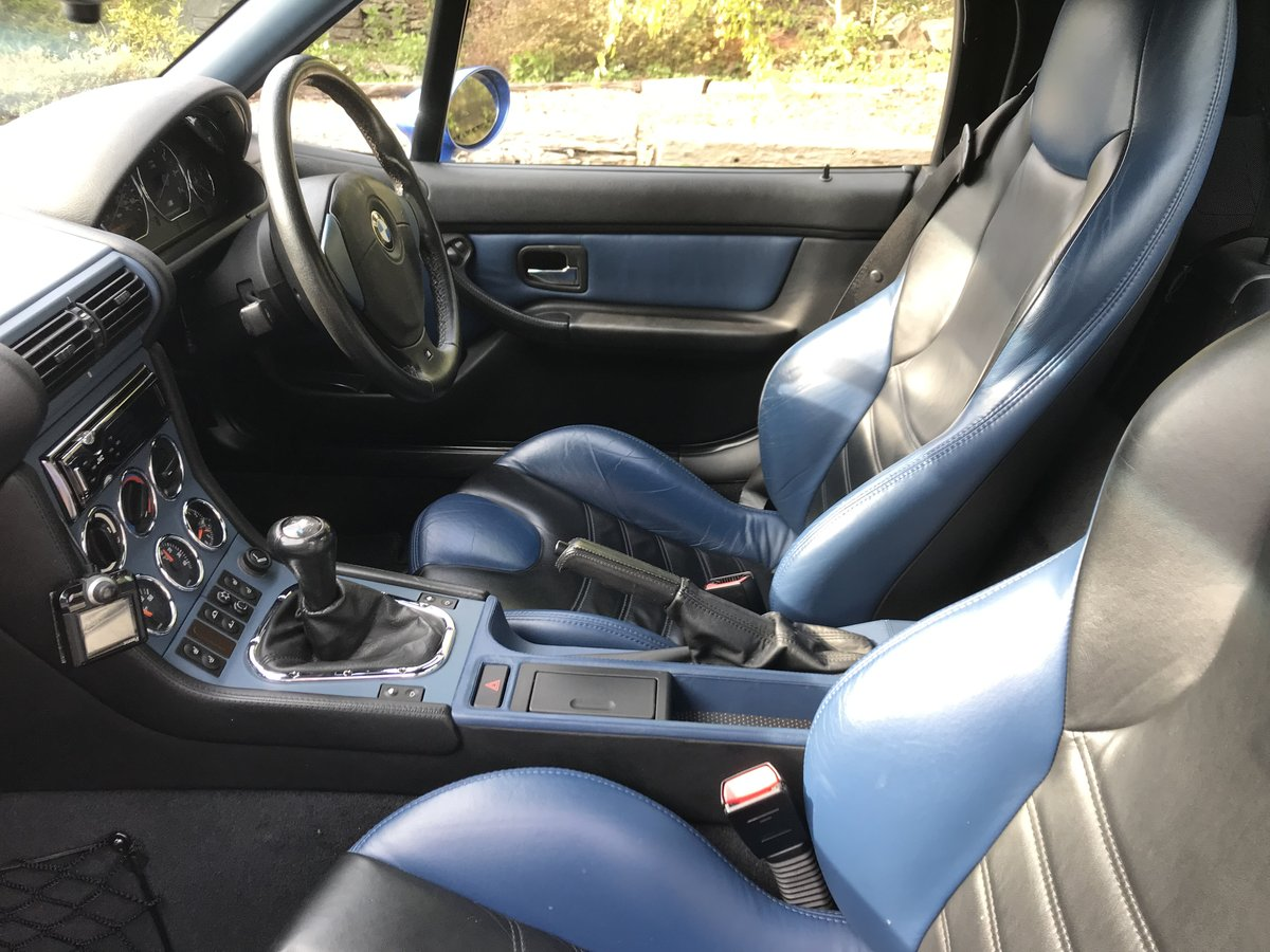 BMW Z3M S50 ROADSTER -1999 - low miles - original For Sale (picture 3 of 6)