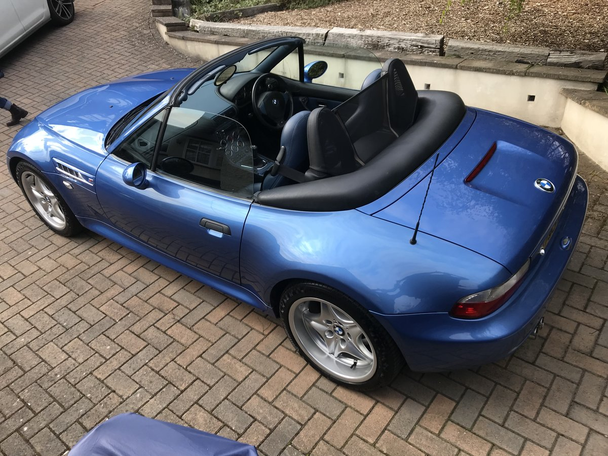 BMW Z3M S50 ROADSTER -1999 - low miles - original For Sale (picture 5 of 6)