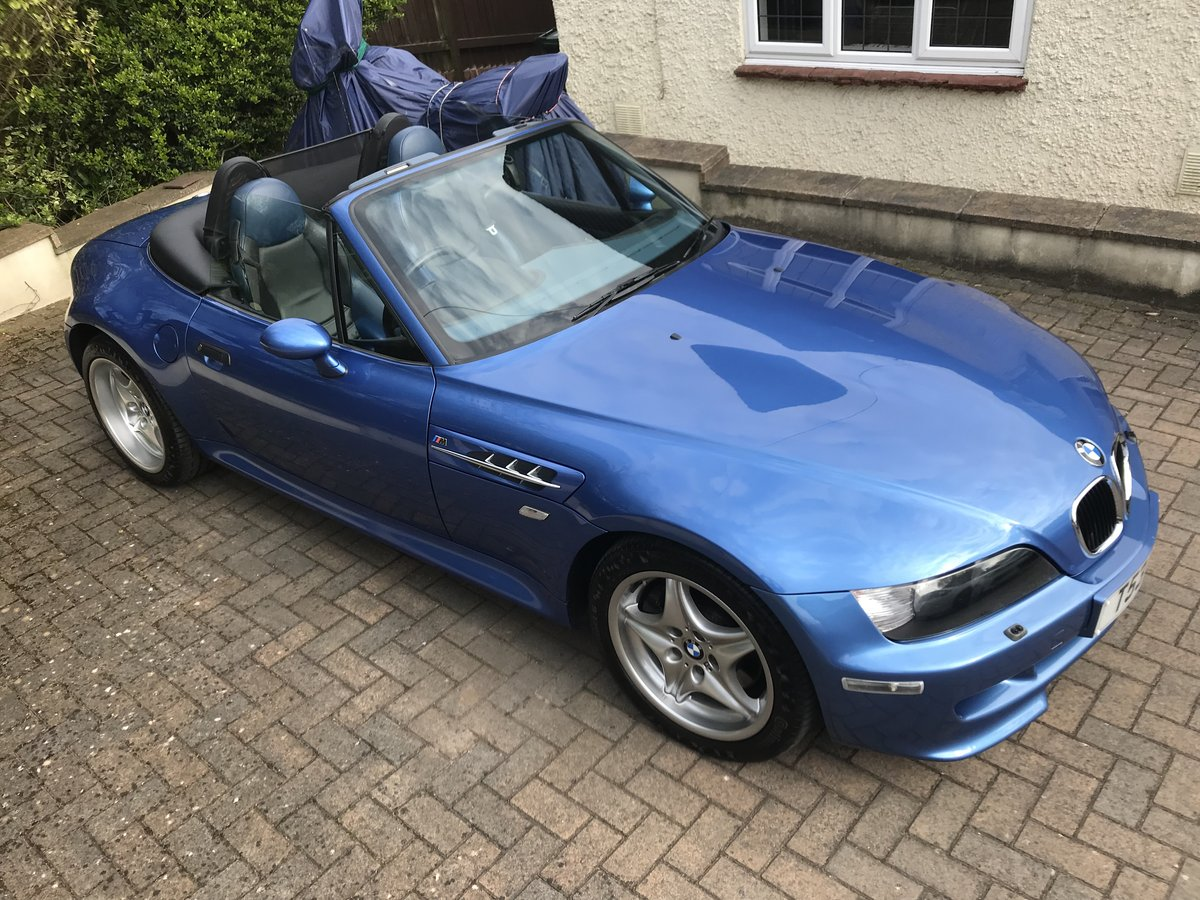 BMW Z3M S50 ROADSTER -1999 - low miles - original For Sale (picture 6 of 6)