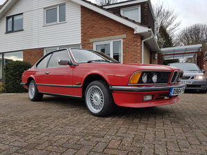 1987 Manual BMW 635csi