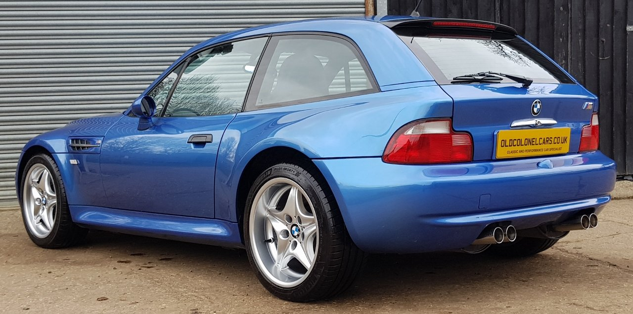 1999 Excellent Z3 M Coupe - Only 58,000 Miles  - Full History For Sale (picture 1 of 6)