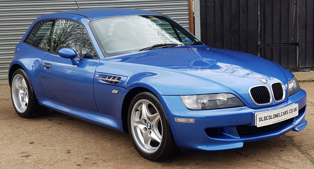 1999 Excellent Z3 M Coupe - Only 58,000 Miles  - Full History For Sale (picture 2 of 6)