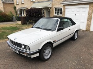 1990 BMW 325i Cabriolet Manual 80k miles FSH For Sale
