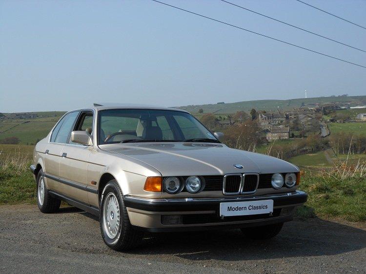 1993 BMW E32 730i SE Auto 79,000 Miles  For Sale (picture 1 of 6)