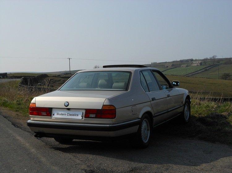 1993 BMW E32 730i SE Auto 79,000 Miles  For Sale (picture 2 of 6)