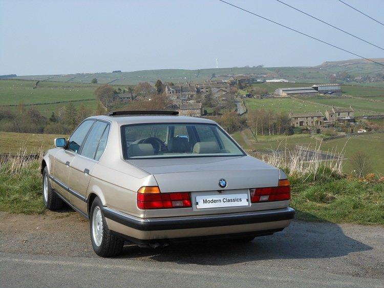 1993 BMW E32 730i SE Auto 79,000 Miles  For Sale (picture 3 of 6)