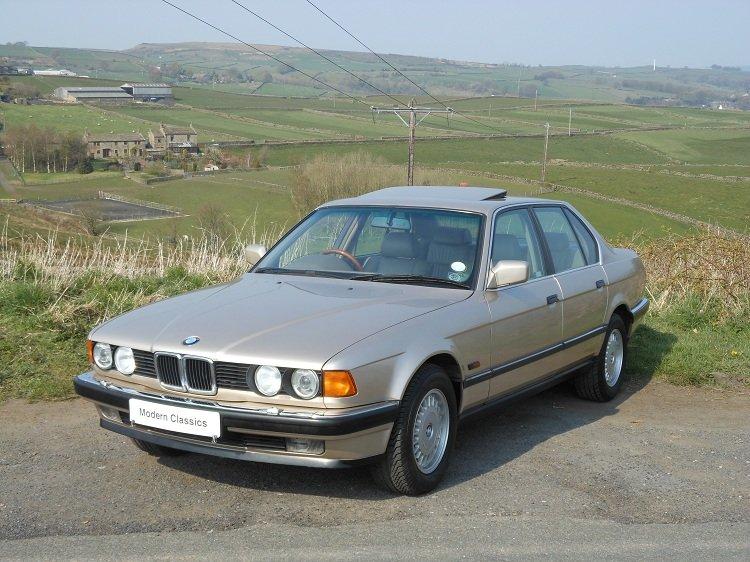 1993 BMW E32 730i SE Auto 79,000 Miles  For Sale (picture 4 of 6)