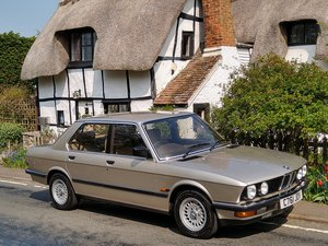 1986 BMW 525e Auto E28. ONE OWNER, FULL SERVICE HISTORY For Sale