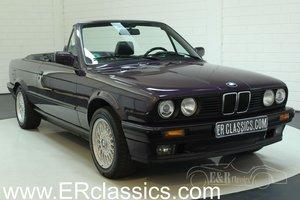 BMW 318i cabriolet 1993 original colour Daytona Violett