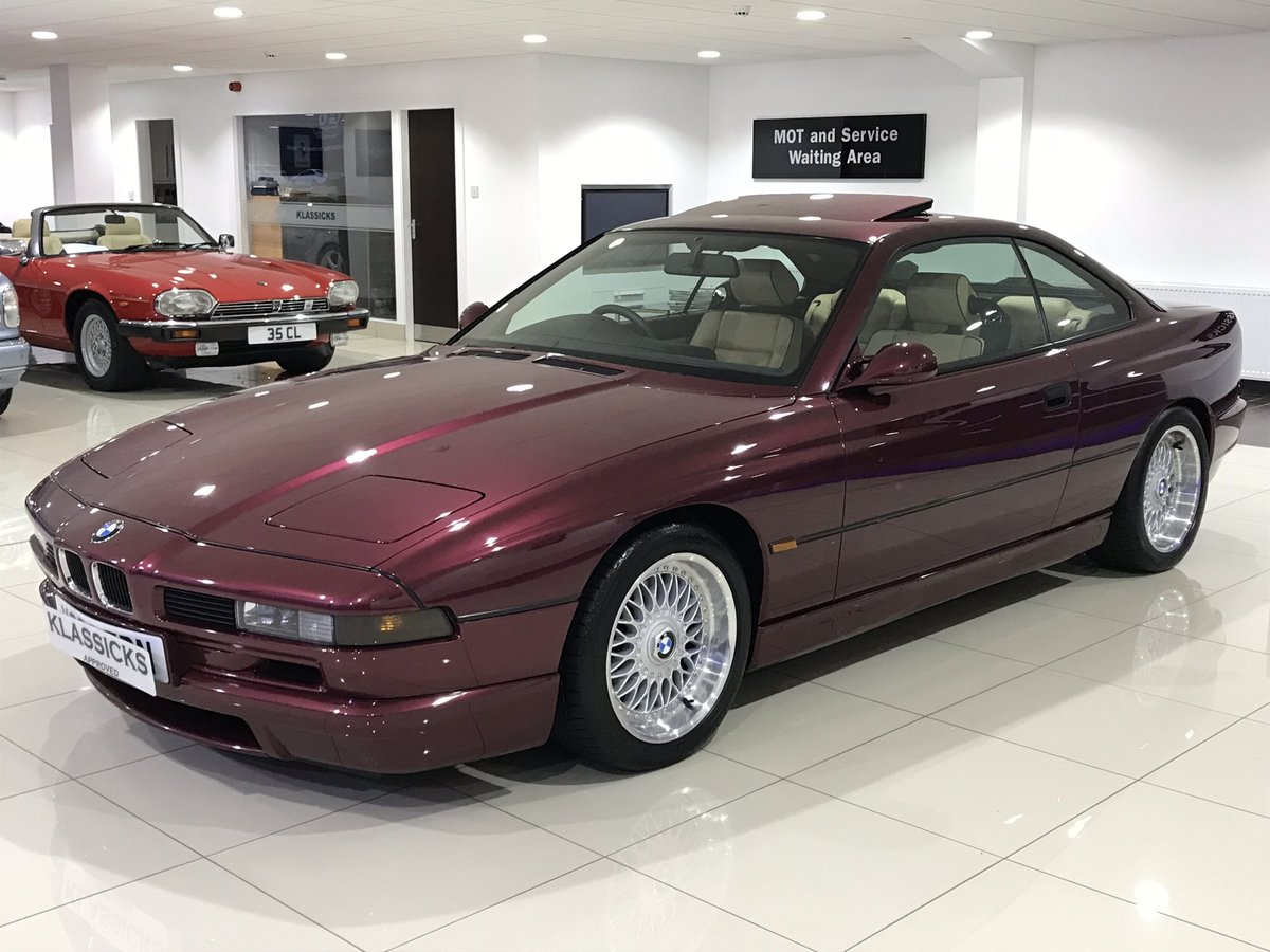 1999 V BMW 840 CI SPORT AUTOMATIC INDIVIDUAL - 27K MILES For Sale (picture 1 of 6)