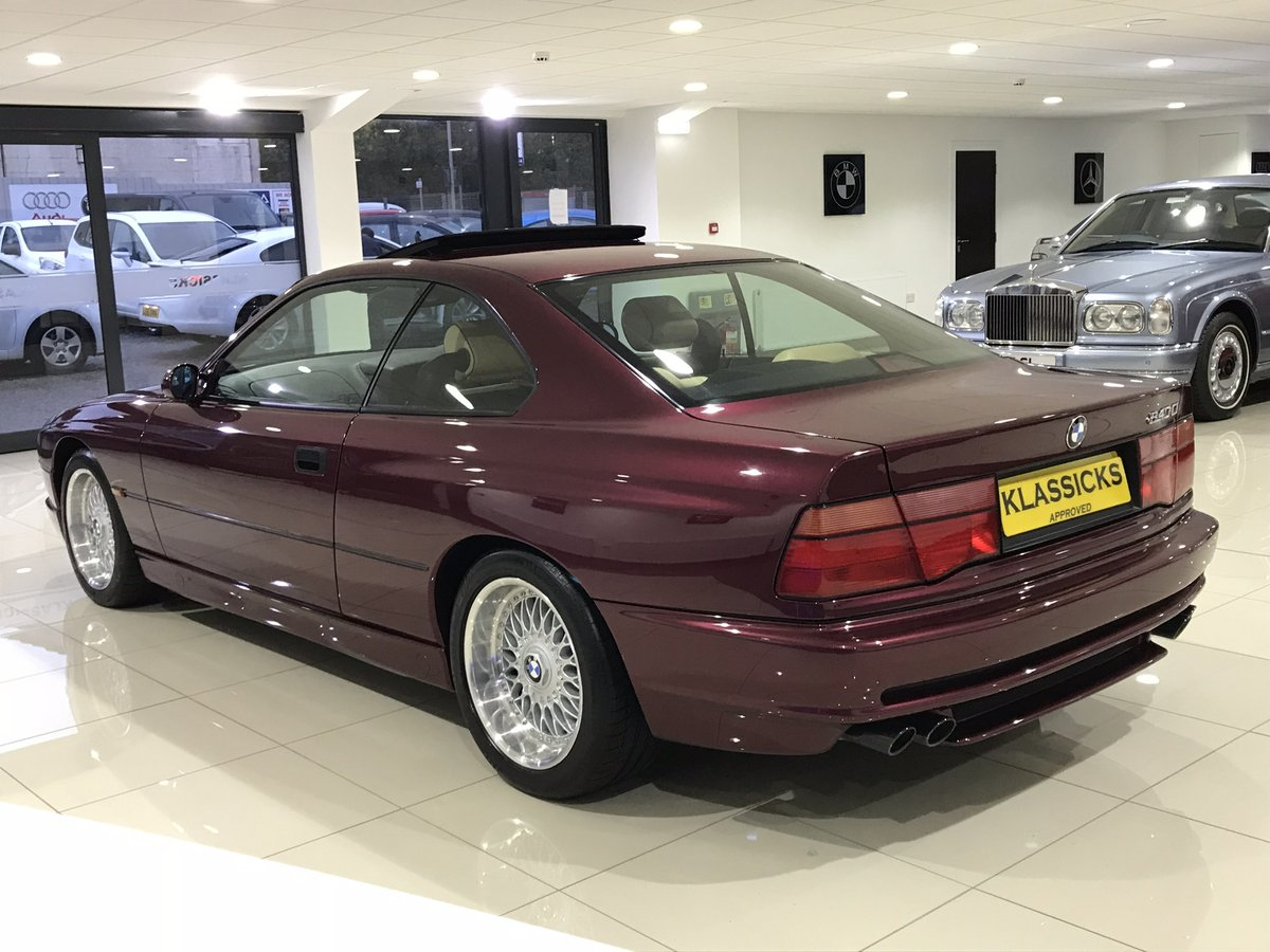 1999 V BMW 840 CI SPORT AUTOMATIC INDIVIDUAL - 27K MILES For Sale (picture 3 of 6)