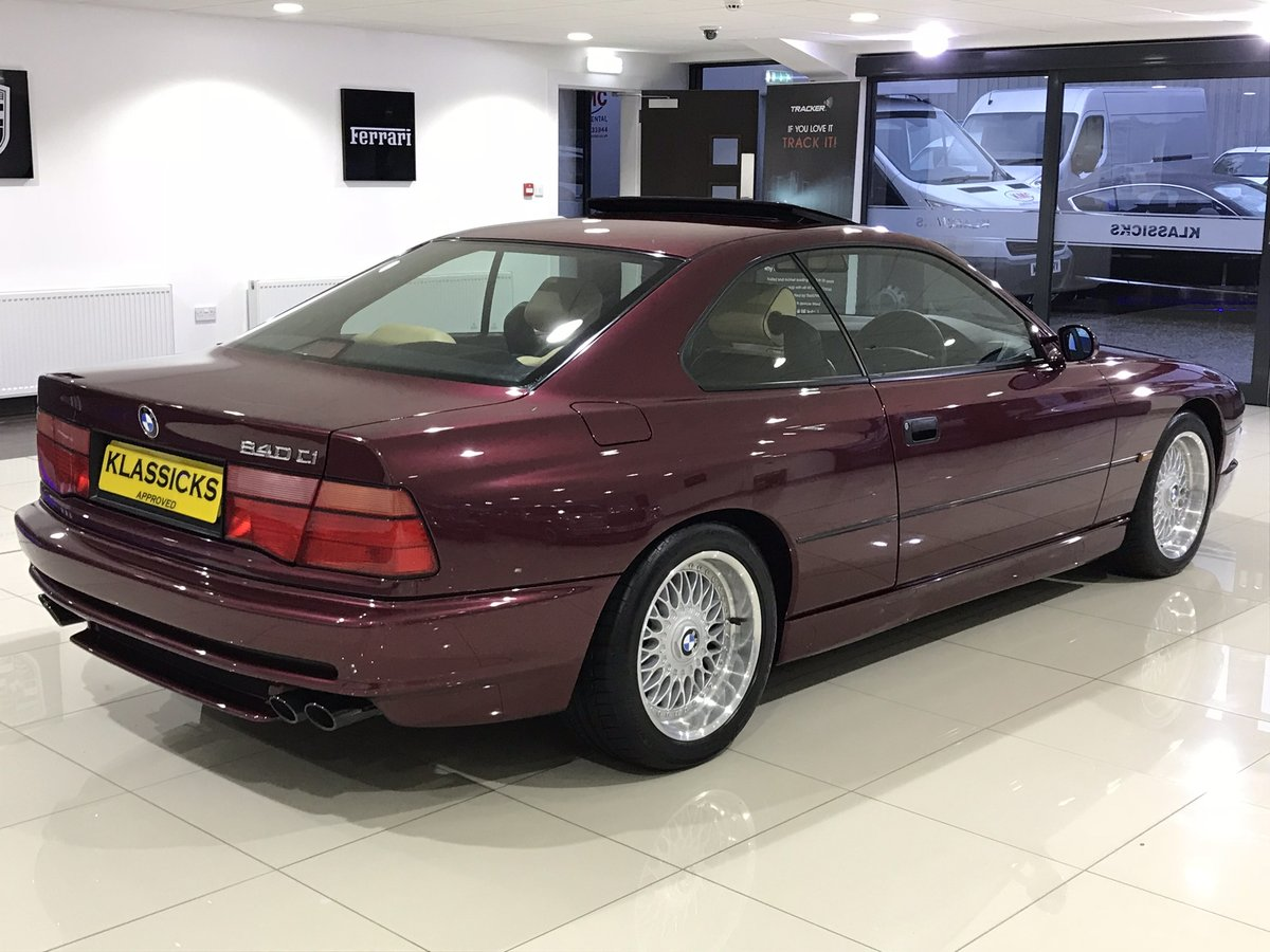 1999 V BMW 840 CI SPORT AUTOMATIC INDIVIDUAL - 27K MILES For Sale (picture 4 of 6)